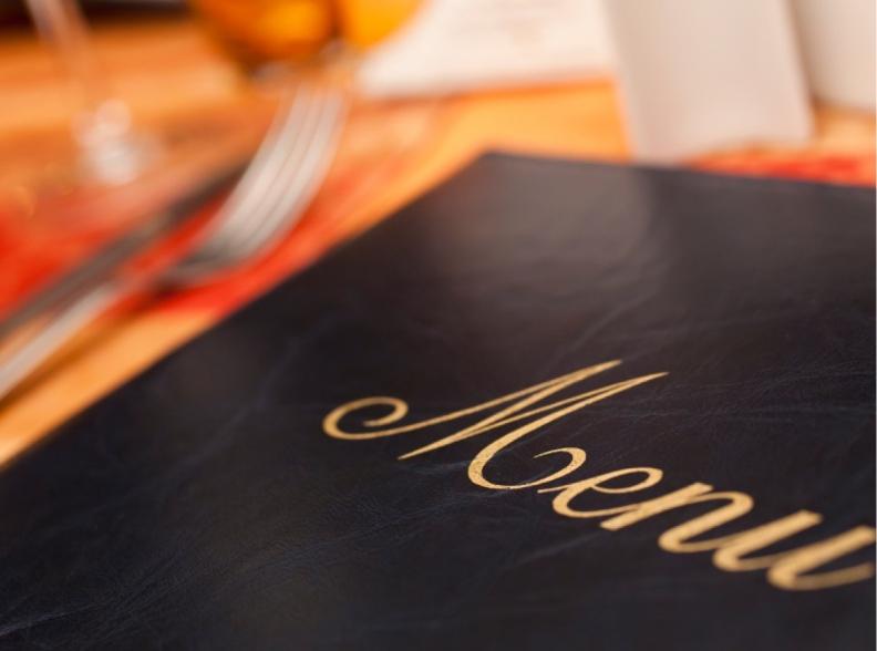 منوی رستوران و کافی شاپ