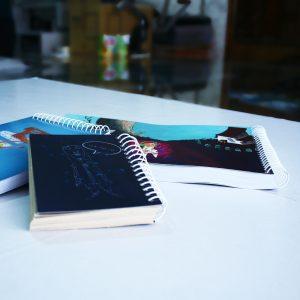 تجربه قیمت آنلاین و چاپ دفتر یادداشت آنلاین با صحافی فنری در چاپ فانوس