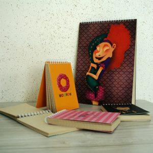 تجربه قیمت دهی آنلاین و چاپ آنلاین دفترچه یادداشت با کاغذ کرافت فانوس پرینت